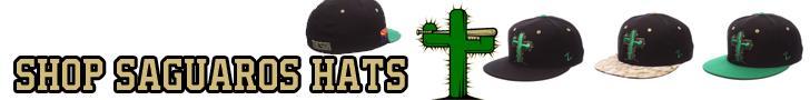 Tucson Saguaros Hats