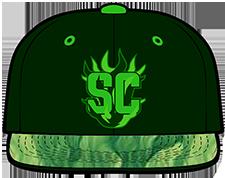 Santa Cruz Seaweed hat