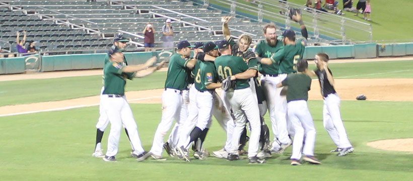 15e3d33c716b04 Pecos League Southern Division (Game 3)Tucson Saguaros 4 Roswell Invaders 1