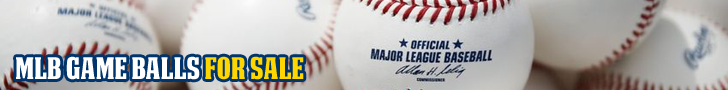 Major League Game Balls For Sale