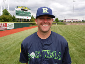 Cody Coffman - -Roswell Invaders Professional Baseball